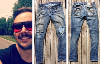 Josh Pickersgill-Brown, Nudie Die-Hard and Denim Donor