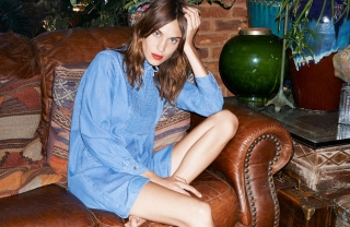 Alexa Chung for AG on MatchesFashion.com