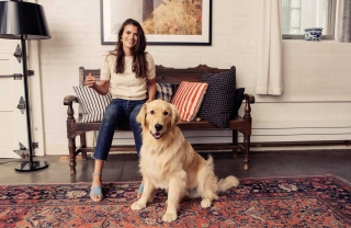 Alessandra Codinha, Her Puppy, and the Perfect-Anywhere Pair
